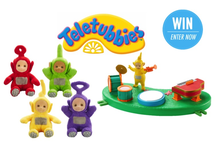 WIN 1 of 10 Teletubbies™ prize packs
