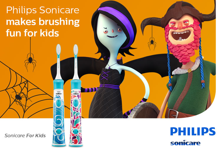 WIN 1 of 5 Philips Sonicare for Kids Electric Toothbrushes