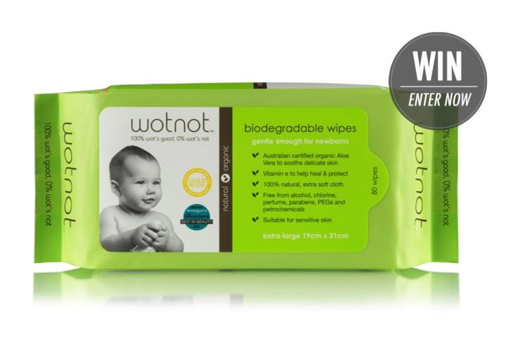 WIN 1 of 5 Wotnot Gift Packs