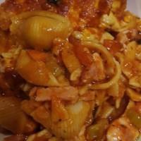 Shazza's chicken pasta bake