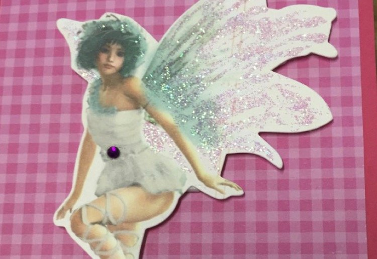 mom111059 reviewed Home made fairy card
