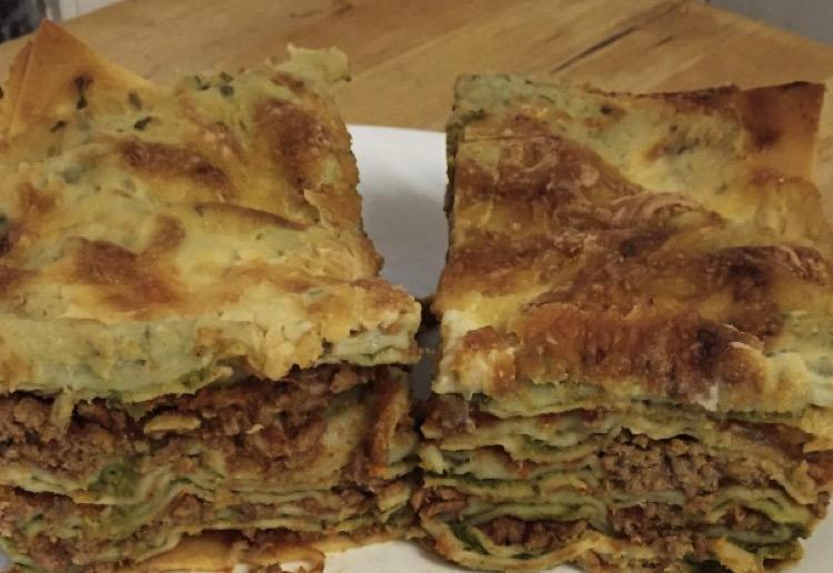Hidden veg lasagne