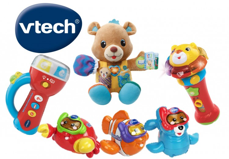WIN 1 of 4 baby prize packs from V Tech