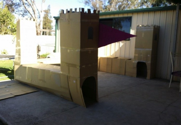 mom211270 reviewed Cardboard castle