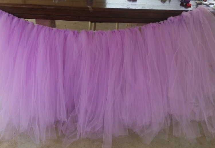 mom129591 reviewed Tutu table skirt