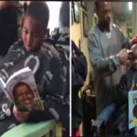 US barber gives discounts to kids who read to them