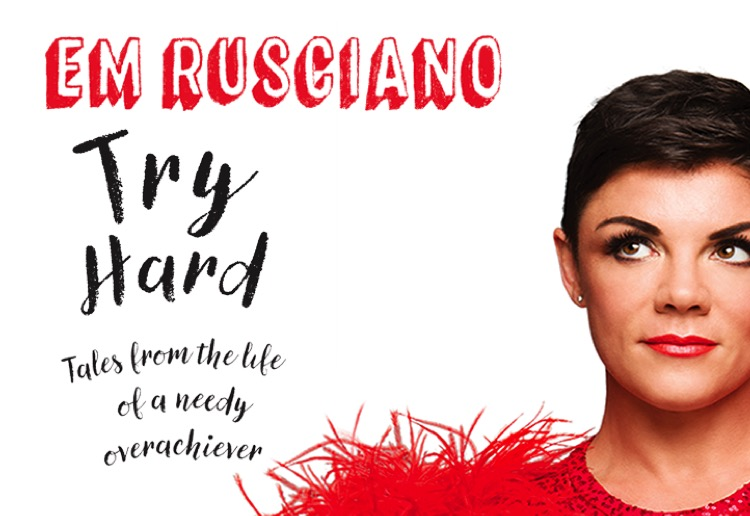 WIN 1 of 16 copies of Try Hard by Em Rusciano
