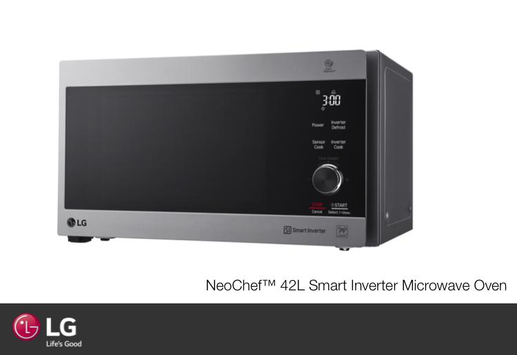 LG NeoChef™ 42L Smart Inverter Microwave Oven