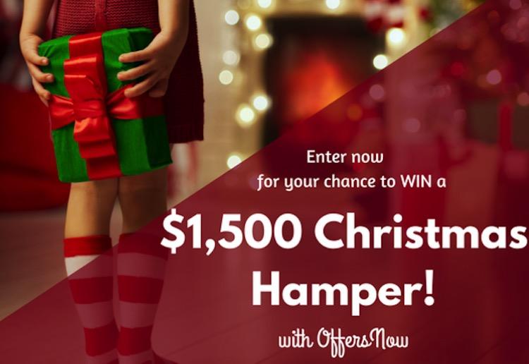 WIN a $1500 Christmas hamper!