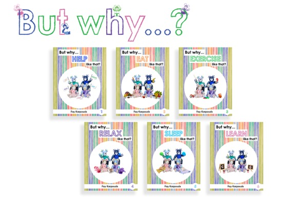 "WIN 1 of 3 ""But why…?"" Children's Book Series"