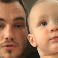 Video: Baby and Dad's adorable beat box session