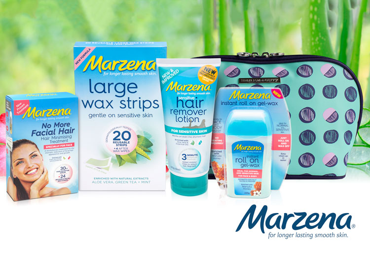 WIN 1 of 6 Marzena Summer Hair Removal Gift Packs