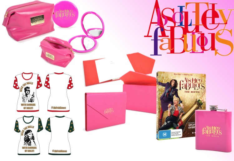 WIN 1 of 3 Absolutely Fabulous gift packs for Christmas