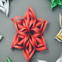 How to make paper snowflakes (it's easier than it looks!)