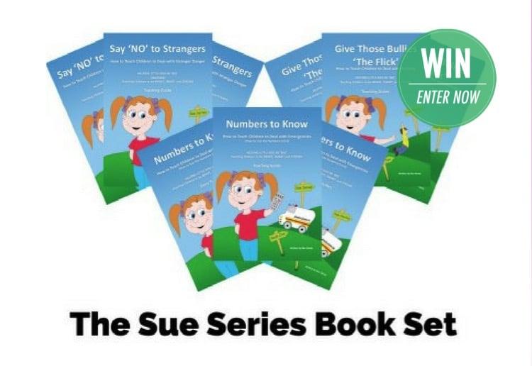 WIN a Sue Series book set!