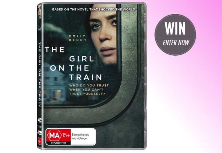 WIN 1 of 20 copies of The Girl on the Train on DVD