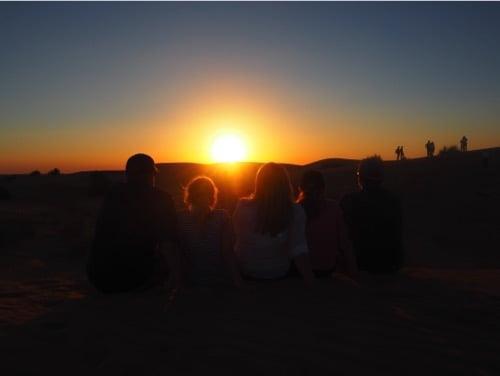 arabian-adventures-dubai_7_family-watching-the-sun-set