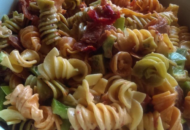 Salami Pasta Salad