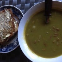 Pea and Ham Soup in Slow Cooker