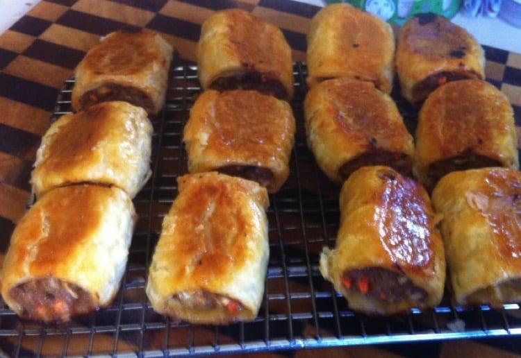 Spicey Sausage Rolls
