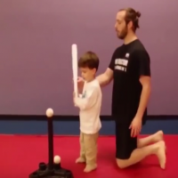 Video: Boy takes Dad's advice literally with hilarious results