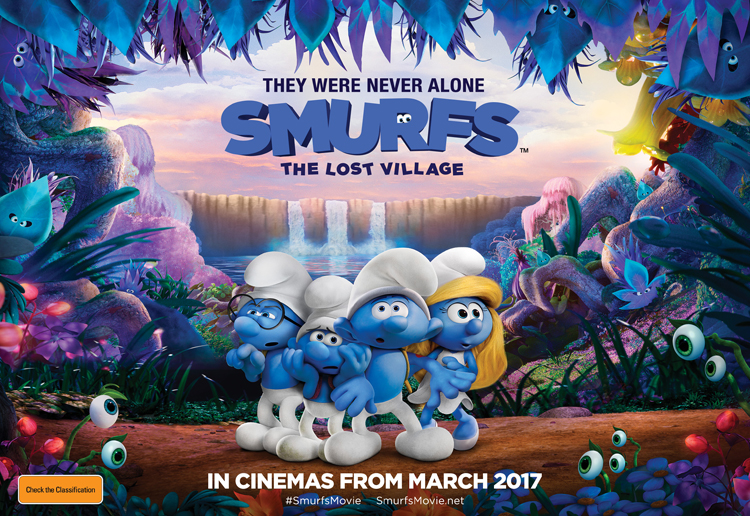WIN 1 of 10 family passes to Smurfs: The Lost Village