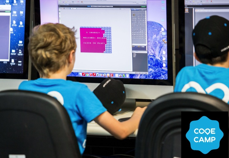 WIN 1 of 2 Code Camps for your children