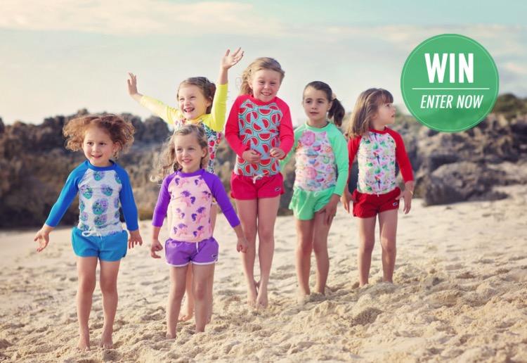 WIN 1 of 10 swimwear packs from HeavenLee Swim.