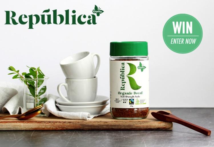 WIN 1 of 50 República Organic Decaf Instant Coffee Jars