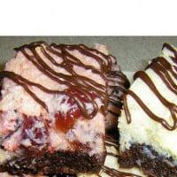 Baked Cherry Ripe Slice