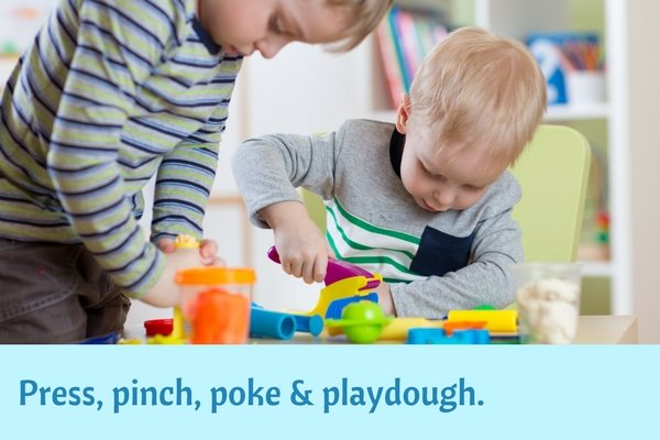 Play that's fun and good for kids too_playdough