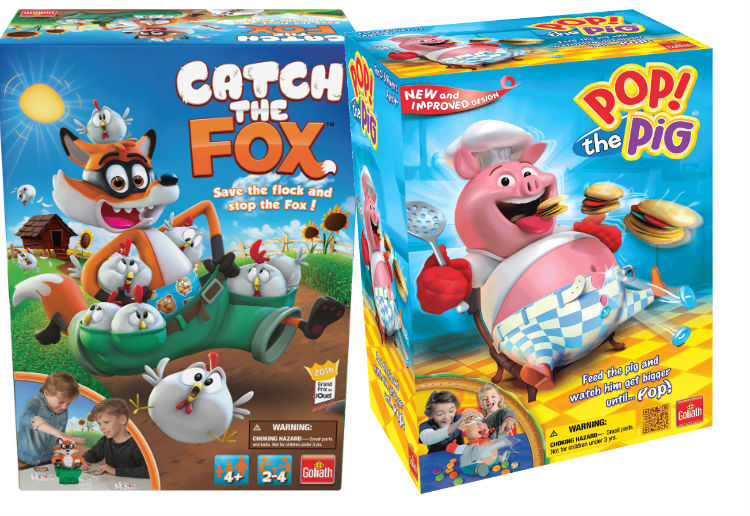 WIN 1 of 7 kids game packs from Crown & Andrews