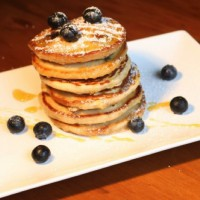 Blueberry and Vanilla Pikelets