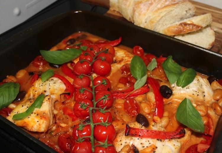 Italian Style Fish Bake