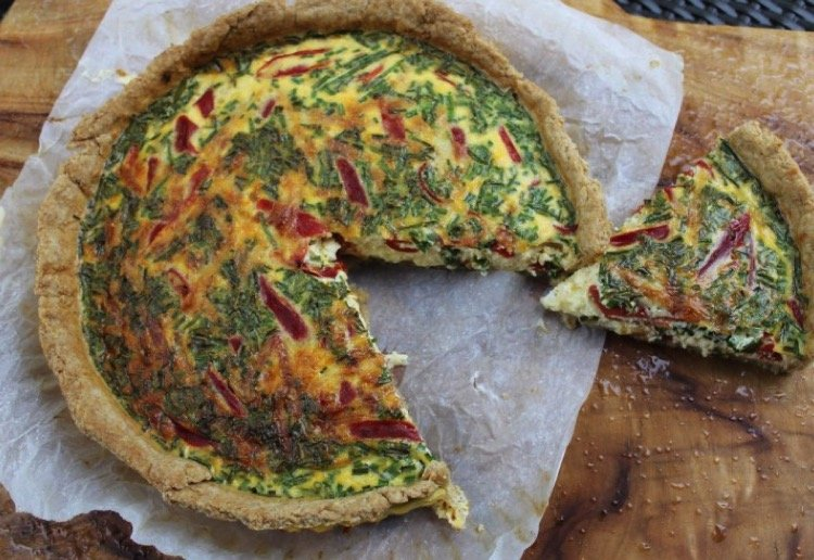 Nas01 reviewed Quiche with Wholemeal Olive Oil Crust