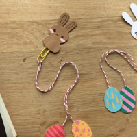 Easter Bunny Bookmark