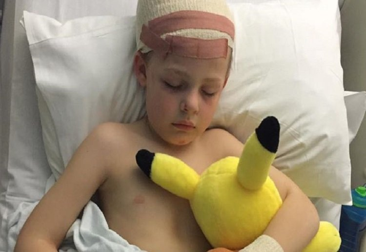 Support from across the globe for young boy bullied at school