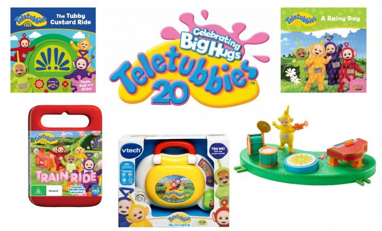 WIN 1 of 5 Teletubbies packs to celebrate their 20th Anniversary