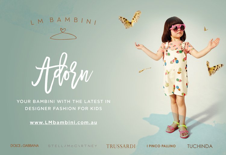 WIN 1 of 5 $100 LM Bambini Vouchers