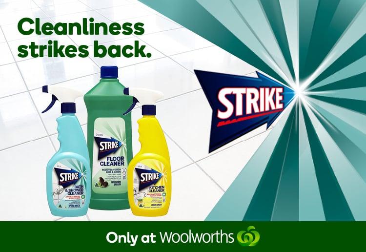Strike Household Cleaners