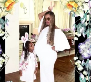 beyonce and blue