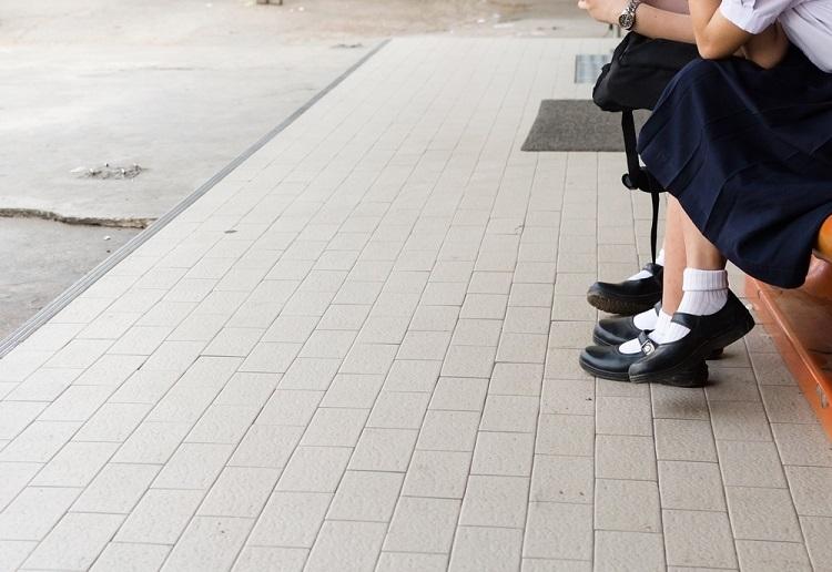 Two young girls caught dealing marijuana at top school