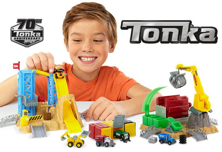 Win TONKA Tiny toys to celebrate Tonka's 70th Birthday