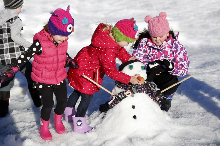 WIN 1 of 5 family passes to 'Snow Time in the Garden' at Hunter Valley