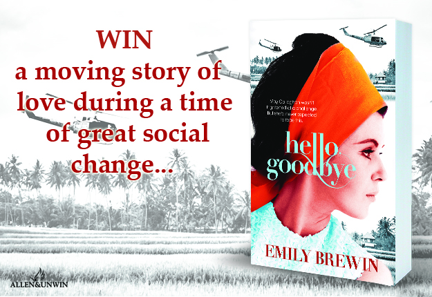 WIN 1 of 20 copies of the novel Hello, Goodbye by Emily Brewin