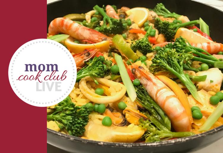 Cheap Cheap Seafood Paella