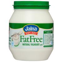 Jalna fat free Yoghourt 1kg