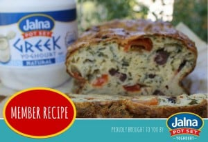 JALNA_Member Recipe_750x516_Tomato Spinach and Olive Loaf