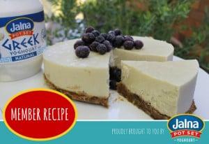 jalna_member recipe_yoghourt and cashew no bake cheesecake_750x516