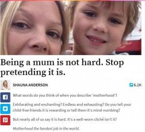 motherhood hard